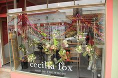 Cecilia Fox: Working closely with growers and suppliers we seek organic materials produced on a small scale wherever possible. Using seasonal flowers fruits and foliage, we love the unexpected, the wild, and the unconventional.