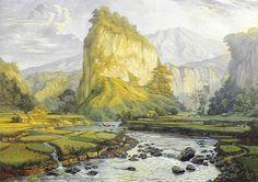 Wakidi - Pemandangan Gunung