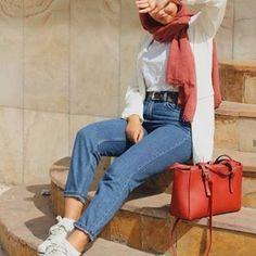 Fashion Hijab Sweety on Today Modern Hijab Fashion, Hijab Fashion Inspiration, Muslim Fashion, Modest Fashion, Fashion Outfits, Fashion Fashion, Fashion Muslimah, Fashion Today, Grunge Style