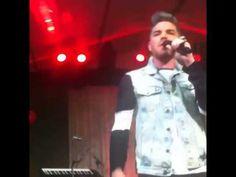 Adam Lambert singing CUCKOO at private sweet 16 party (IG vid)
