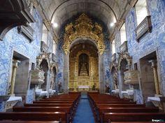 Azulejos nella Igreja de São Vítor, seguendo il link si troveranno altre foto.