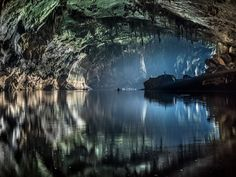 Inside out by john spies on 500px, Tham Xe Bang Fai. Laos, cave