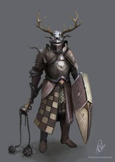 m Paladin w platemail armor helm shield flail Random Fantasy/RPG artwork I find interesting,(*NOT MINE) from Tolkien to D&D.hope you enjoy it! Fantasy Concept Art, Fantasy Armor, Medieval Fantasy, Fantasy Character Design, Character Art, Dnd Characters, Fantasy Characters, Armadura Medieval, Knight Art