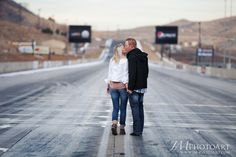 nascar themed engagement session - Google Search