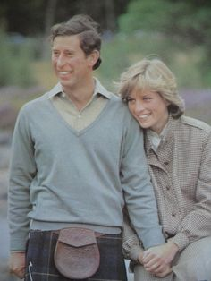 Charles & Diana on Honeymoon in Scotland