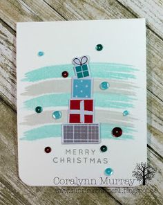 Sunrise Stamper: Day 8 - Christmas Card Series