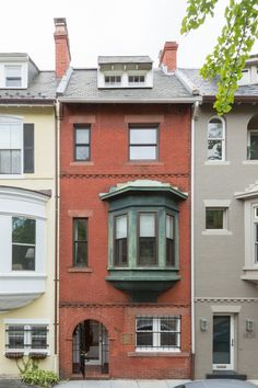Houses With Bay Windows bay window row house - google search | brooklyn house | pinterest