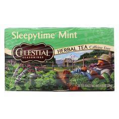 Celestial Sleepy Time Herbal Tea - Mint - Case Of 6 - 20 Bags
