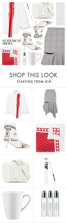 """""""Statement Shoes"""" by deepwinter ❤ liked on Polyvore featuring Monse, Osklen, Pillivuyt and Byredo"""