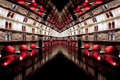 #reflection #mirror #strasbourg #water #bridge #symmetry creation © Jonathan Stutz