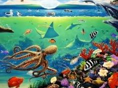 THE BEATLES OCTOPUS GARDEN CARTOON IMAGES | Beatles Octopus garden