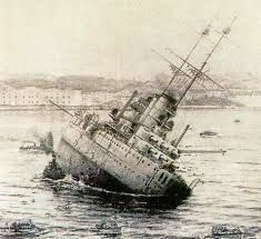 SMS Viribus Unitis - Wikipedia, the free encyclopedia Naval History, Military History, Sink Or Swim, Abandoned Ships, Austro Hungarian, Armada, Navy Ships, World War One, Kaiser