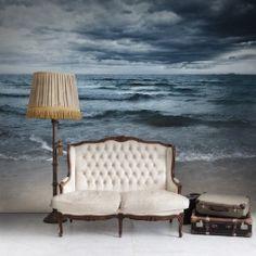 """Magnifiques reflets de nuages gris sur la mer. """"Le remède pour tous les maux est l'eau salée, la sueur, les larmes ou la mer"""" Isak Dinesen, parez-vous en!"""