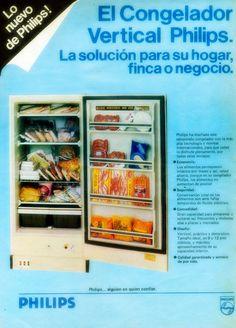 Congelador PHILIPS, 80s