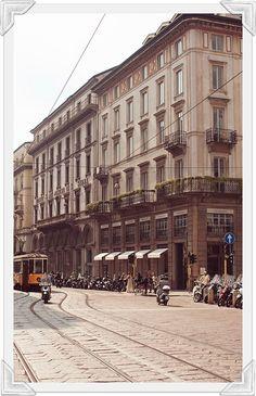 Milan, Italy during Fashion Week, 2013, by Carin Olsson (www.ParisinFourMonths.com)