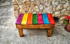 Pallets of garden furniture promise simple elegance and lasting comfort for the courtyard or terrace Garden Furniture Sets, Pallet Furniture, Furniture Making, Painted Furniture, Furniture Design, Outdoor Furniture, Outdoor Decor, Old Pallets, Pallets Garden