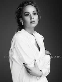 New outtakes of Jennifer Lawrence's shoot for Dior (2016)