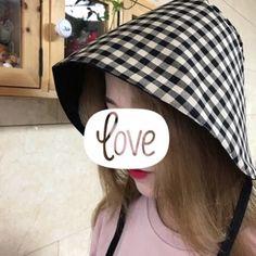 블랙체크 보넷 : 네이버 블로그 Sewing, Hats, Fashion, Moda, Dressmaking, Couture, Hat, Fashion Styles, Fabric Sewing