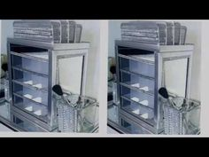 Dollar Tree DIY | Makeup Organizer Storage | Do it yourself - YouTube