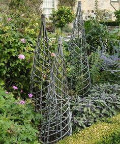 Un Tuteur En Forme De Palme En Bois Jardins Fait Maison Et Arbres Du Jardin
