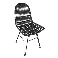 Rattan Chair With Large Backs Seen In The Sunday Times Solid Wood Dining Chairs, Dining Chair Set, Outdoor Wicker Furniture, Outdoor Chairs, Rattan Chairs, Vintage Furniture, Furniture Design, Chair Pads, Living Room Sets