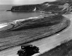 Portuguese Bend and Palos Verdes Coast Highway, Rancho Palos Verdes. by Palos Verdes Local History, via Flickr