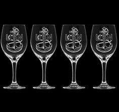 Held for Karyn Culpepper USN Chief 20 oz Wine by NavyBratGlass