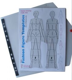 Fashion Figure Templates (stencils you draw around) by Shoben. Use to draw technical drawings/croquis. Fashion Figure Templates, Fashion Sketches, Fashion Illustrations, Fashion Figures, You Draw, All Fashion, Diy Clothes, Stencils, Sewing Patterns