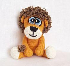 Amigurumi Crochet Pattern Amigurumi Lion by LovelyBabyGift