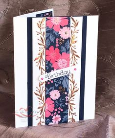 The Stampin' Chic: Feature Friday! Cool Cards, Diy Cards, Handmade Cards, Everything's Rosie, Stamping Up Cards, Scrapbooking, Card Kit, Flower Cards, Making Ideas