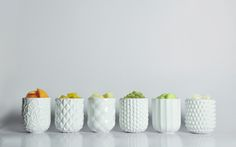 ViiCHENDESIGN : Fruit and Vegetable Peels Cups