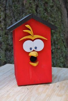 Hey, I found this really awesome Etsy listing at https://www.etsy.com/listing/100344153/tweetie-birdhouse