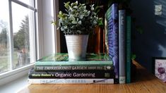 Excited to share the latest addition to my #etsy shop: Garden books how to create gardens impressionistic gardens herb garden table display,coffee table, room accent, spring accent.wedding http://etsy.me/2BJVuA6