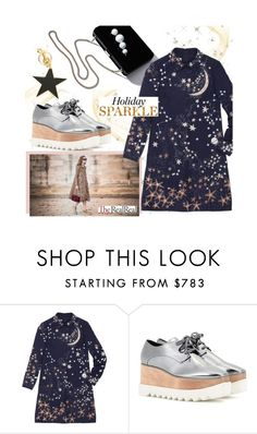 """Holiday Sparkle With The RealReal: Contest Entry"" by ashleigh-lauren ❤ liked on Polyvore featuring STELLA McCARTNEY, Valentino and TheRealReal"