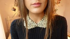 DIY: Peter Pan Collar Necklace with laur ♡ DIY  Go check out her channel: http://www.youtube.com/user/LaurDIY?feature=watch