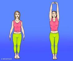 6 öregedésgátló gyakorlat, amitől a tested olyan lesz, mint új korában Anti Aging, 300 Workout, Stress Relief Exercises, Yoga Positions, Benefits Of Exercise, Healthy Aging, Healthy Tips, Breathing Techniques, Improve Posture