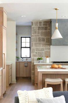 European Kitchens, Home Kitchens, Kitchen Interior, Kitchen Design, White Oak Kitchen, Prep Kitchen, Kitchen Living, Kitchen Ideas, American Interior