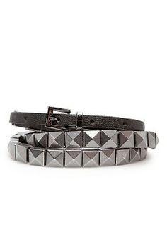 a9dd2b5348039 Chain trimmed leather belt - All - Women - MANGO Cintos, Cintos De Grife,