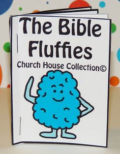 The Bible Fluffies Mini Booklet -Free Printable For Kids- Resources For Children's Ministry #sundayschoolcrafts #childrensministry #crafts #kidscrafts #minibooklets #biblecrafts #churchcrafts #bibleprintables #bible #church