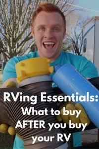 13 RVing Essentials: What You Need to Buy AFTER You Buy Your Rig - Heath and Alyssa