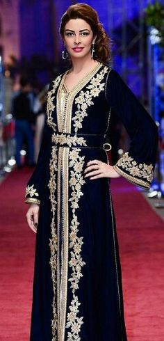 #Caftan #goldembroidery
