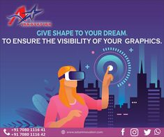 Graphic design is the art of communication & problem-solving through imagery. A-Star innovation helps you in getting an effective way to engage with customers. A Good Design distinct identity for your business by designing excellence that establishes and escalates your brand image in the market effectively.  Email- astarinnovation@gmail.com visit on .www.astarinnovation.com  #AStarInnovation #DigitalMarketingLucknow #DigitalIndia #LogoDesign #BusinessStationeryDesign… Out Of Home Advertising, Communication Problems, Digital India, Different Media, Logo Design, Graphic Design, Problem Solving, Dreaming Of You, Digital Marketing