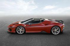 Limited-edition Ferrari J50 revealed in Japan | Discover more: http://designlimitededition.com/