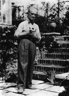 Maurice Ravel in Montfort / 1929