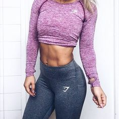 Seamless Long Sleeve styled with Sculpture leggings for the perfect workout look. you will LOVE these super hero fitness shirts! Fitness Motivation, Fitness Goals, Fitness Tips, Fitness Wear, Workout Attire, Workout Wear, Workout Tips, Workout Outfits, Michelle Lewin