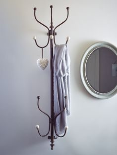 NEW Wall Mounted Coat Rack  |  Cox & Cox