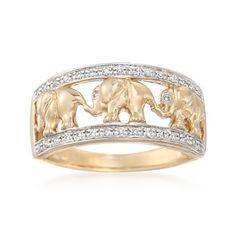 Diamond Elephant Motif Ring in Yellow Gold. Diamond Elephant Motif Ring in Yellow Gold. Elephant Ring, Elephant Jewelry, Rings For Her, Yellow Gold Rings, Diamond, Elephants, Giraffes, Zebras, Jewelry Ideas