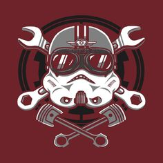 Check out this awesome 'Trooper+Racer' design on @TeePublic!