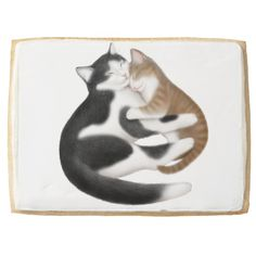 Motherly Love Cats Jumbo Cookie  #cats  #gifts  #cookies