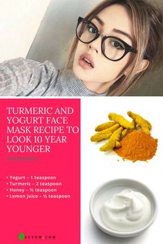 Turmeric And Yogurt Face Mask Recipe To Look 10 Year Younger Korean Girls,Look So Young,Why Do Korean Girls Look So Young?,Korean Anti Aging Skin Care Tips,korean,antiaging,skincare,skincare tips,wishtrend,wishtrendtv,massage,skin care massage,antiaging m